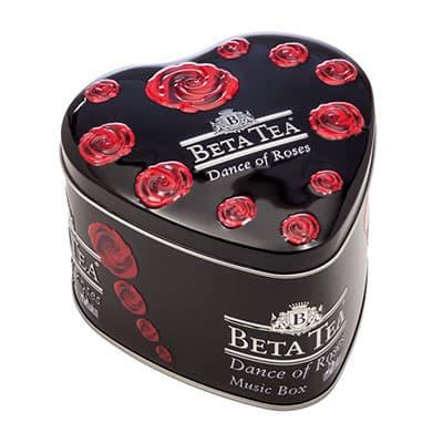 Чай Beta Tea черный Танец роз 100 гр (в музыкальной шкатулке)