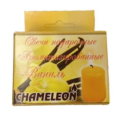 Свеча арома столбик ваниль 63гр
