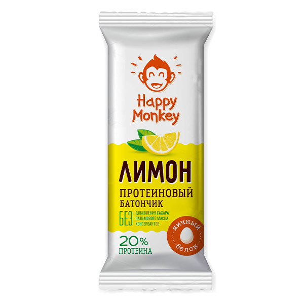 Батончик протеиновый с лимоном (Ферма Бондаренко Н.) 30 гр