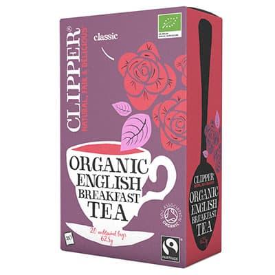 Чай Clipper черный Английский завтрак Органик 20 пак