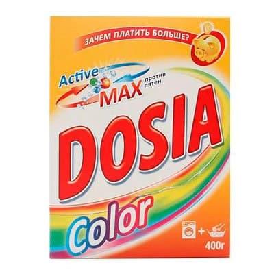 Стиральный порошок Dosia color автомат 400 гр фото