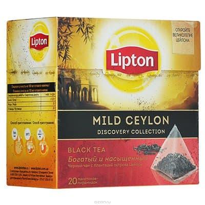 Lipton / Липтон Mild Ceylon (20пир.) (1шт.)