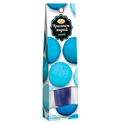 Краситель жидкий Парфэ синий 25 гр