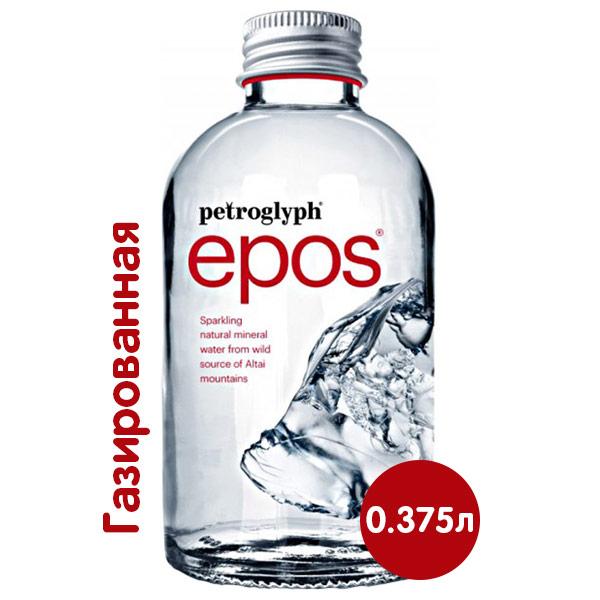 Вода Petroglyph 0.375 литра, газ, стекло, 12 шт. в уп.