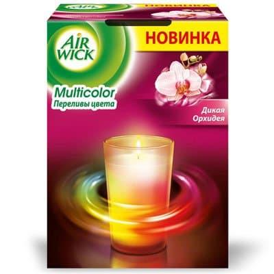 Свеча мультиколор AIRWICK Орхидея 152гр