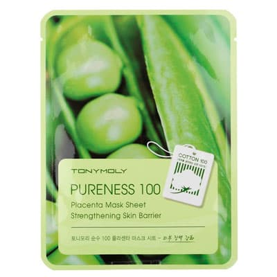 Маска тканевая TonyMoly с экстрактом растительной плаценты Pureness 100 Placenta Mask Sheet 21мл