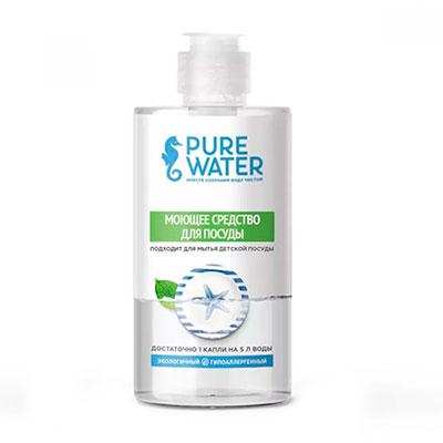 Средство для мытья посуды Pure Water гипоаллергенное 450 мл