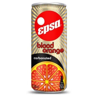 Epsa / Эпса напиток красный апельсин 0,33л газ ж/б. (4шт.)