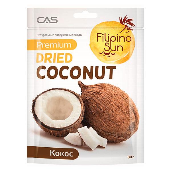 Кокос Filipino Sun сушеный 60 гр