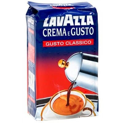 LavAzza / Лавацца Crema e gusto молотый 250 гр фото