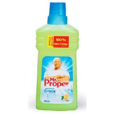 """Моющее средство """"Mr.Proper"""" Лимон 0,5 л (2шт.)"""