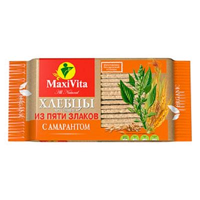 Хлебцы с амарантом MaxiVita Полезноff 150 гр