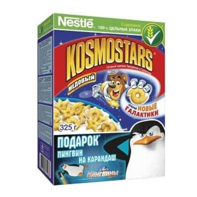 Готовый завтрак Kosmostars медовый 325гр (2шт)