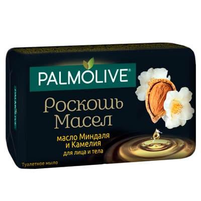 Мыло Palmolive натурэль роскошь масел масло миндаля и камелия 90 гр 5 шт. в уп. фото