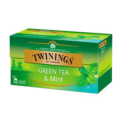 Чай Twinings зеленый с мятой 25 пак фото