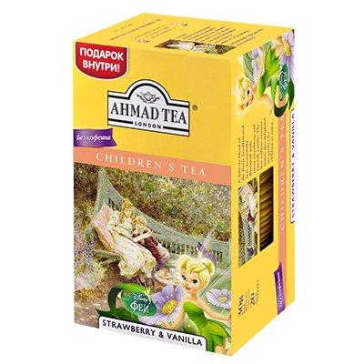 Ahmad / Ахмад детский чай с ароматом клубники и ванили, фея (20пак)