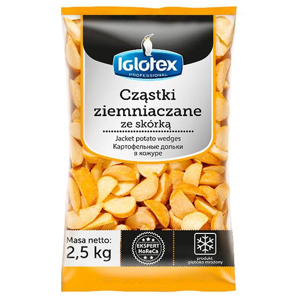 Картофельные дольки в кожуре Iglotex professional замороженные 2.5 кг