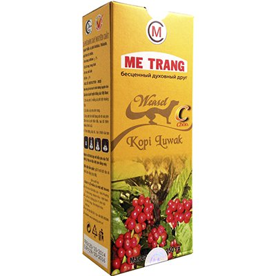 Кофе Me Trang Weasei-Kopi Luwak молотый 250гр.