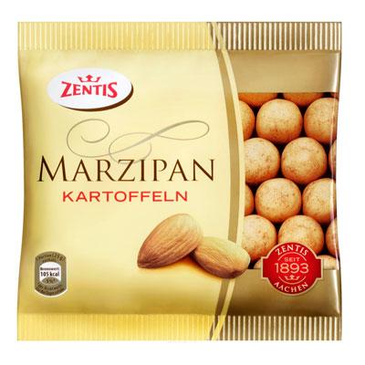 Марципановая картошка Zentis / Центис 100 гр