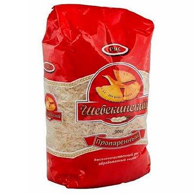 Рис пропаренный Шебекинский 0.9кг (2шт.)
