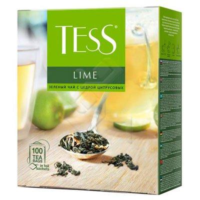 Tess / Тесс Lime зеленый с лаймом (100пак.)