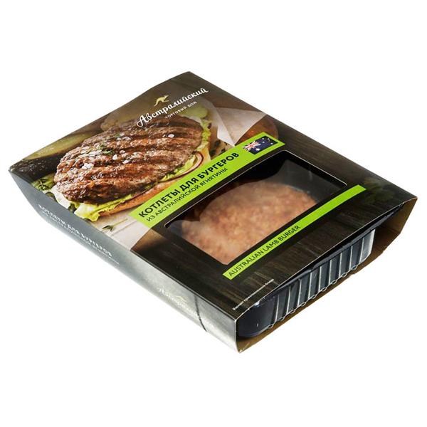 Котлеты Австралийский ТД для бургеров из Австралийской ягнятены 300 гр