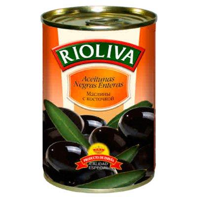 Маслины RioLiva с косточкой 314гр.