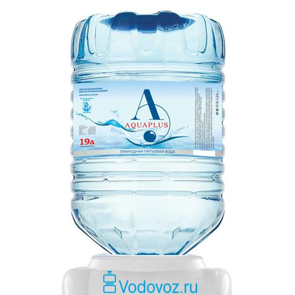 Вода Aquaplus 19 литров в одноразовой таре