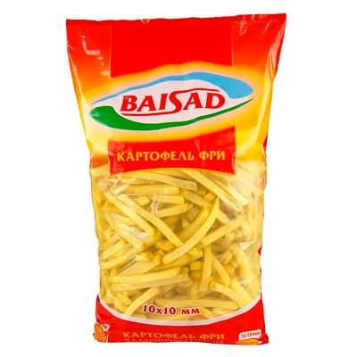 Картофель фри Baisad замороженный 2,5 кг фото