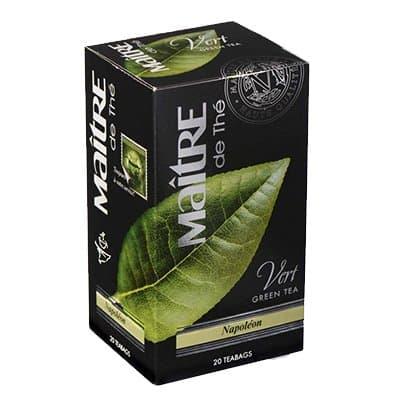 Чай Maitre Наполеон зеленый (20пак)