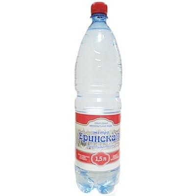 Вода Еринская экстра структурированная 1.5 литра, без газа, пэт, 6шт. в уп.