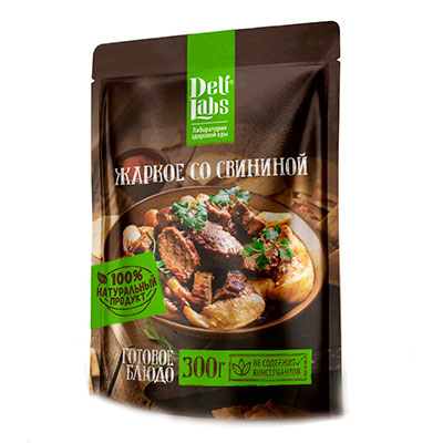 Жаркое со свининой DeliLabs 300 гр