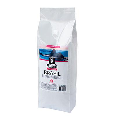Кофе La Famiglia Pellegrini Brasil зерно 1кг фото