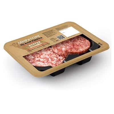 Бургеры из говядины Мираторг охлажденные 200 гр