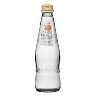 Вода Врынци / Vrnjci 0.33 литра, без газа, стекло, 12шт. в уп.