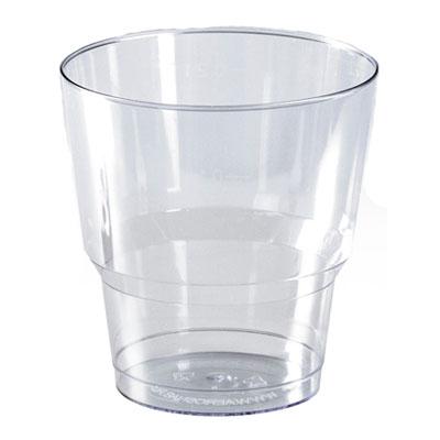 Стакан прозрачный кристалл одноразовый 0,2 литра 50 шт. в уп. фото
