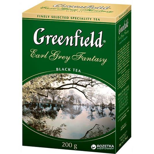 Купить со скидкой Чай Greenfield Earl Grey Fantasy черный с бергамотом 200 гр.