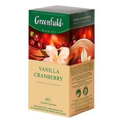Greenfield / Гринфилд Vanilla Cranberry (25пак)