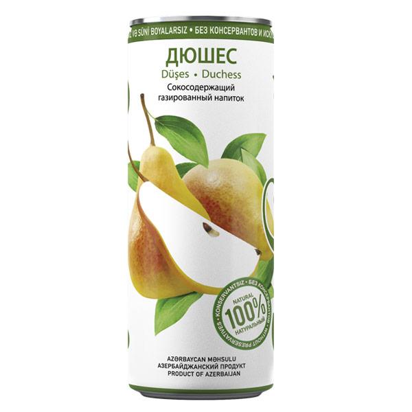 Лимонад Шахдаг Дюшес 0.33 литра, ж/б, 24 шт. в уп.