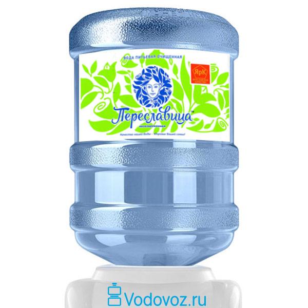 Вода Переславица очищенная 18.9 литров фото