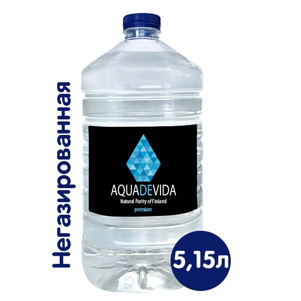 Родниковая вода Aquadevida 5.15 литра фото
