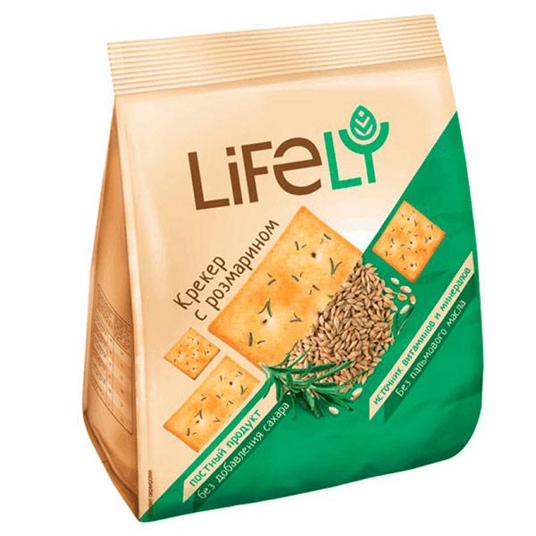 Крекер LifeLY с розмарином 180 гр