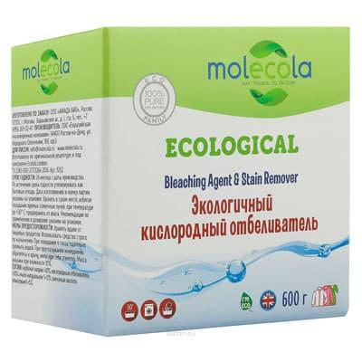 Отбеливатель Molecola кислородный экологичный 600 гр фото