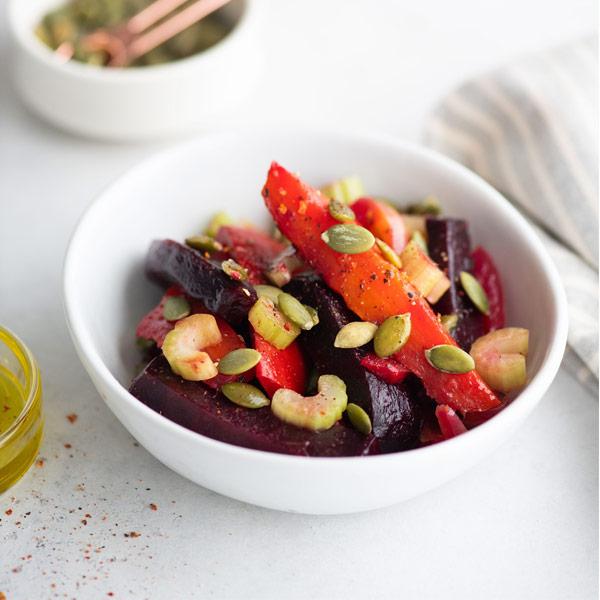 Салат BeFi из пряно-печеных овощей 200 гр