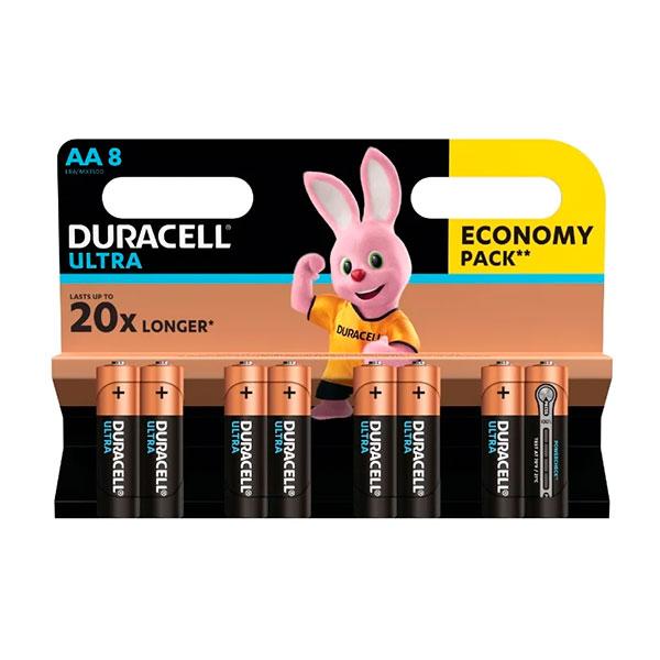 Батарейки серия AA Duracell Ultra Power 8 шт фото