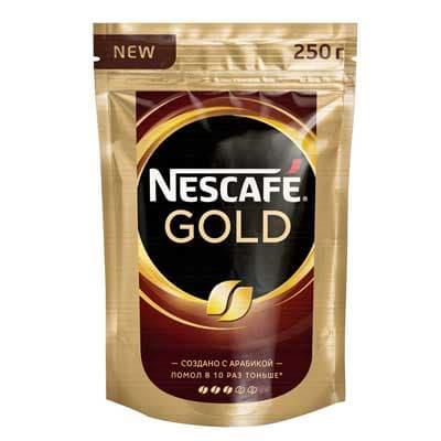 Nescafe / Нескафе gold растворимый м/у (250гр)