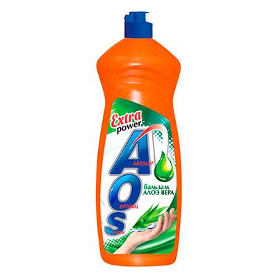 Средство для мытья посуды Aos бальзам алоэ-вера 900 мл фото