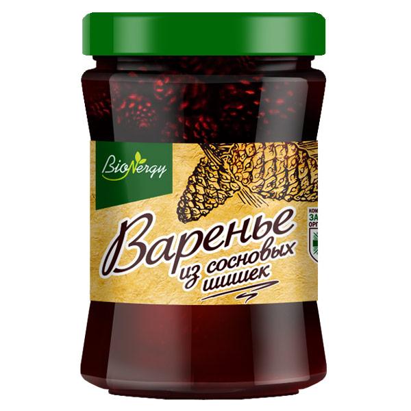 Варенье BioNergy из шишек сосны 300 гр