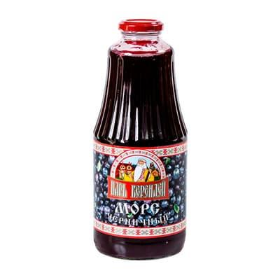 Морс Царь Берендей черника 1 литр, стекло, 9 шт. в уп.