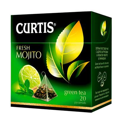 Чай зеленый Curtis Fresh Mojito 20 пир фото